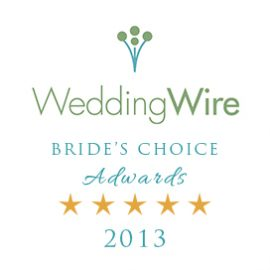 Wedding Wire Bridal Choice Award 2013