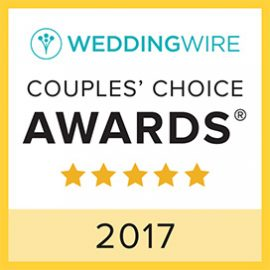 Wedding Wire Couple's Choice 2017 Award