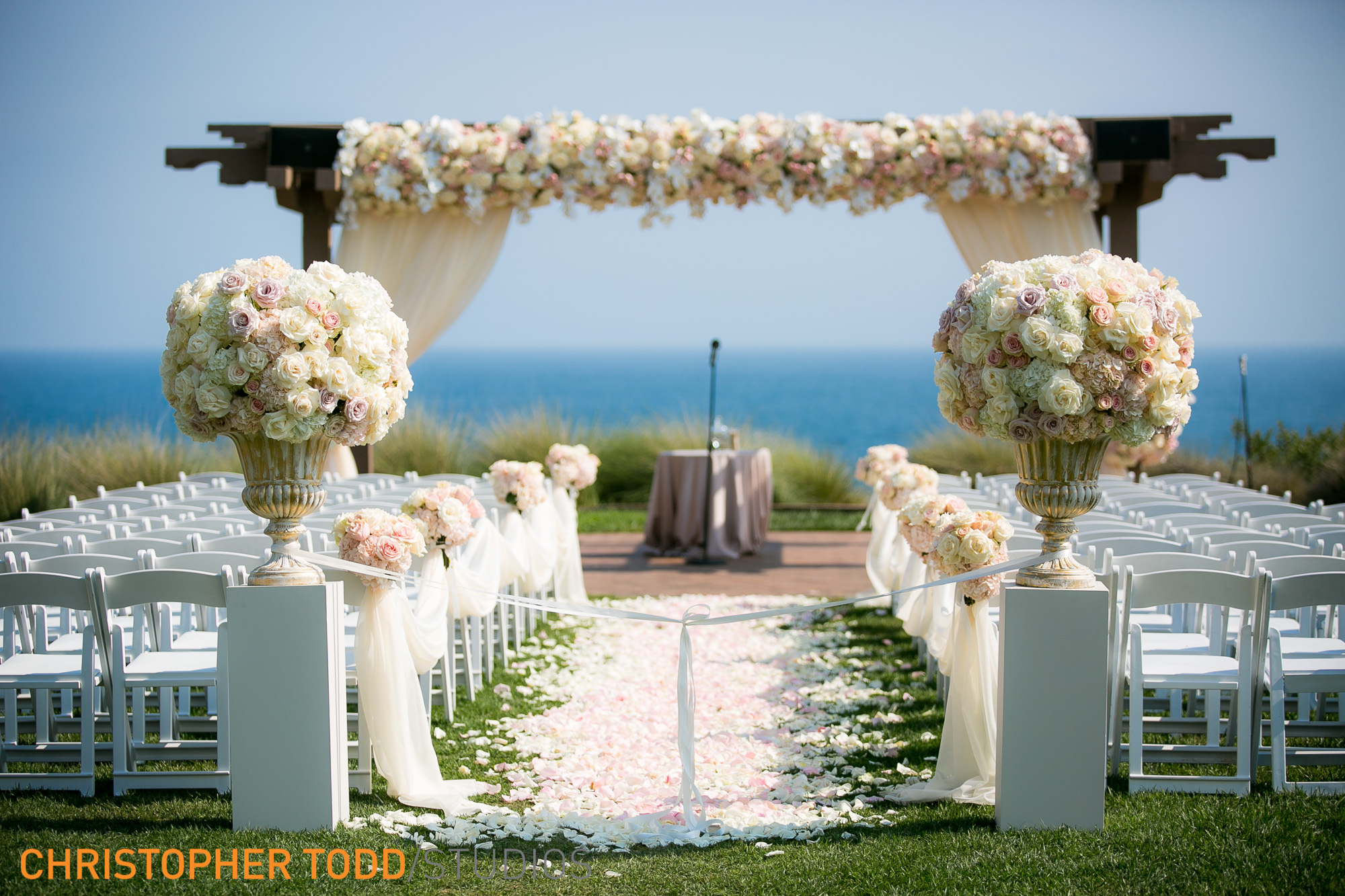 MOst Romantic Ceremony Site