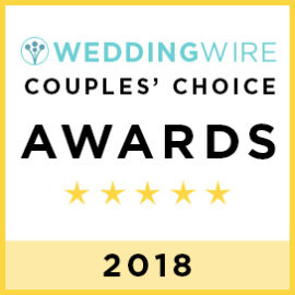 2018 WeddingWire Couples' Choice Award