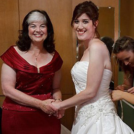 Testimonial by Sandy - Mother of the Bride