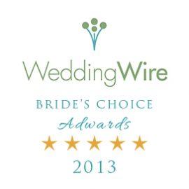 Wedding Wire Bridal Choice Award 2013