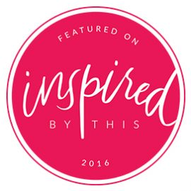 Featured on Inspired By This 2016