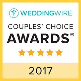Wedding Wire Couple's Choice 2017 Award